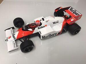 1/18 Mclaren MP4/2 Niki Lauda 1984 World Champion