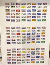 1/18 placas de Diorama EE. UU. 0019