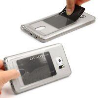 Urcover® Handy Schutz Hülle Samsung Galaxy Note 5 Kartenfach Silikon Case Cover