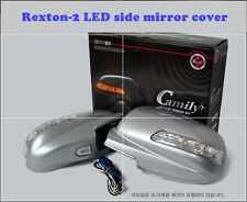 LED Light Side Mirror Cover (3 way) for Ssangyong  Rexton - 2 (2006~2008)////