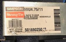 Simpson Strong Tie Miu47511 Joist Hanger