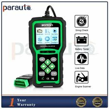 12V Battery Scanner Code Reader OBD2 OBDII EOBD Automotive Detection Tool New