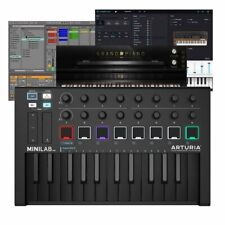 Arturia Minilab MK2 Deep Black USB MIDI Keyboard Controller + Analog Lab PC MAC