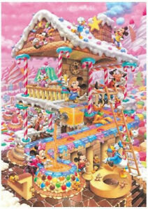 Tenyo Puzzle Disney Fantastical Treats House Puzzle 266 pieces