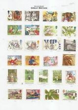 Cats Used Great Britain Commemorative Stamps (1990s)