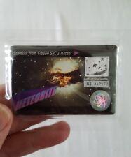 VINTAGE NESTLES METEORITE CARD STILL SEALED GIBEON SRC 3 METEOR STAR DUST