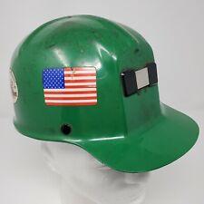Vintage Miner's Cap  MSA Comfo-Cap Green