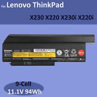 Genuine 44++ X230 X220 Battery for Lenovo ThinkPad 45N1026 X230i 45N1023 X220i