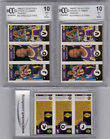 (2) SHAQUILLE O'NEAL Graded BCCG 10 GOLD 1996 UPPER DECK LA LAKERS SHAQ TEAM SET