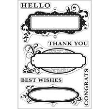 HERO ARTS RUBBER STAMPS CLEAR CONGRATS STAMP SET