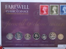 RARE 2008 Farewell to Classic Coinage Silver Proof 7 Coin Set First Day Cover
