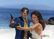 PHOTO LE MAGNIFIQUE - JACQUELINE BISSET & JEAN-PAUL BELMONDO - 11X15 CM  # 7