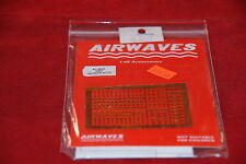 AIRWAVES PHOTO ETCHED WWII GERMAN ACCESSORIES  AC-4809 1:48 NEW