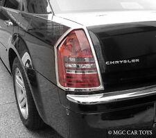 Chrysler 300C 2008 2009 2010 Tail Light Taillight Chrome Trim Set (trims only)