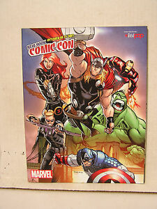 2013 New York Comic Con Convention Program Book- 160+ Pages (M1452)