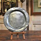 Antique 18th Century English Pewter Plate Platter Charger Made in London