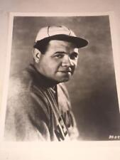 "PHOTOGRAPH 8x10"" Glossy of BABE RUTH - Baseball Hall of Fame, In N.Y. Uniform"