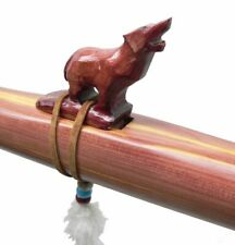 Authentic Native American Wolf Flute hand made Jonah Thompson key of F# Cedar