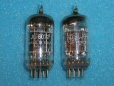 GE 6072 AUDIO PREAMP TUBE   X 2