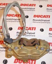 "Ducati Monster 750SS Brembo L/H front brake 4-piston caliper and 27"" brake line"