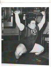 Weightlifting Photo Strongman Paul Anderson Bodybuilding Muscle B&W #7