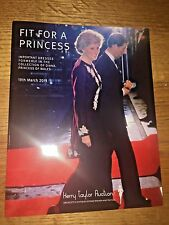 PRINCESS DIANA -CATALOG: FIT FOR A PRINCESS  (Kerry Taylor Auctions) book