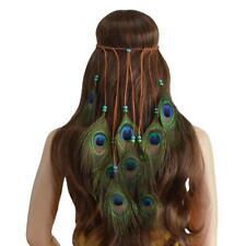 Paon Plumes Perles Bandeau de Cheveux à Femmes Headbands - Accessoires