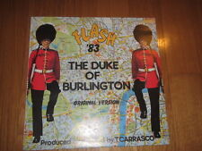 italo THE DUKE OF BURLINGTON FLASH 83 prod TONY CARRASCO PROTO RECORDS