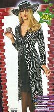 MS. KOOL Gangster Pimpette Zebra Animal Coat Bolero Hat VELVET Med Sz 10-14 NEW!