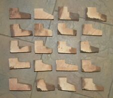20 BRIAR PIPE BLOCKS EBAUCHONS FOR PIPES PIPA PFEIFEN MADE IN ITALY SMALL SIZE