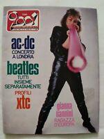 CIAO 2001 N. 50 1982 AC-DC BEATLES GIANNA NANNINI PINO DANIELE GEORGE THOROGOOD