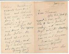 More details for dorothea beale -suffragist- 1905 letter cheltenham ladies college -yeats lecture
