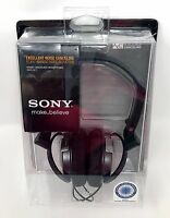 Sony MDR-NC7 Foldable Active Noise Cancelling Over 85% On-Ear Headphones Headset