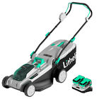 Litheli 2*20V Lawn Mower  Cordless Brushless with 2*4.0 Ah Battery & Charger