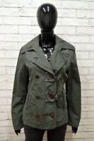 Giubbotto in Lino Giubbino Giacca Donna MURPHY & NYE Taglia Size L Jacket Woman
