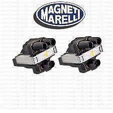 2 BOBINE MAGNETI MARELLI FIAT PUNTO PANDA SEICENTO CINQUECENTO 1.1 1.2 BENZINA