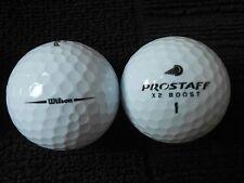 """20 WILSON STAFF - """" X2 BOOST """" -  Golf Balls - """"PEARL"""" Grade."""