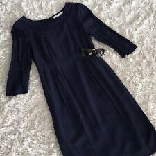 Boden Sheath 3/4 Sleeve Dress, Blue - Size 4Tall