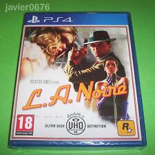 L. A. NOIRE NUEVO Y PRECINTADO PAL ESPAÑA PLAYSTATION 4 PS4 ROCKSTAR GAMES