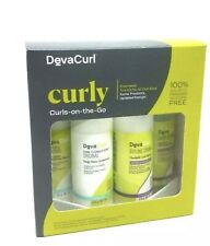 DevaCurl Curls-On-The-Go Kit for All Curl Kind 4pcs