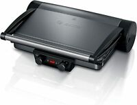 Bosch Hausgeräte Tischgrill Parrilla de contacto, Placas extraíbles de aluminio