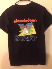 RARE Vintage Nickelodeon STAFF Double Dare Shirt S I'll Take Physical Challenge