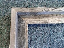 Picture Frame- 18x24 -Real Authentic Rustic Barnwood Unfinished Country Style