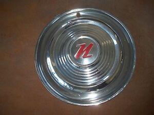 """1956 56 Nash Rambler Hubcap Rim Wheel Cover Hub Cap 15"""" OEM USED"""