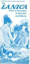 LANICA timetable 1973/01/18