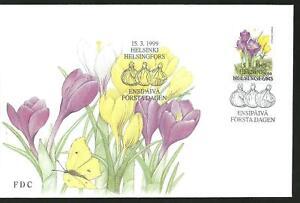 FINLAND FDC - Crocus Flowers 1999