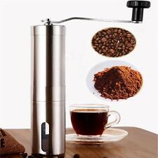 Mini Stainless Steel Manual Hand Crank Coffee Beans Peppers Seeds Grinder Mill S