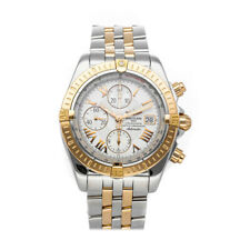 Breitling Chronomat Evolution Auto Steel Gold Mens Watch Date C1335611/A619