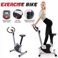 Heimtrainer Fitnessbike Cardio Ergometer Sport Gym Trainer Fettverbrennung LED