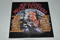 VA Sampler - World Stars Music Festival - Album Vinyl Schallplatte LP